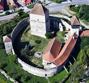 fortified churches - calnic