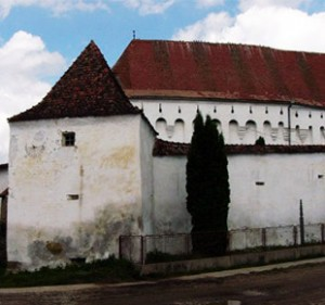 fortified churches - darjiu