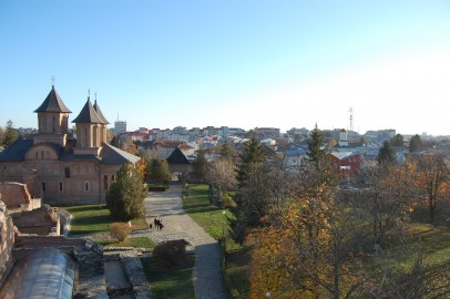 "Targoviste – View from ""Chindiei Tower"""