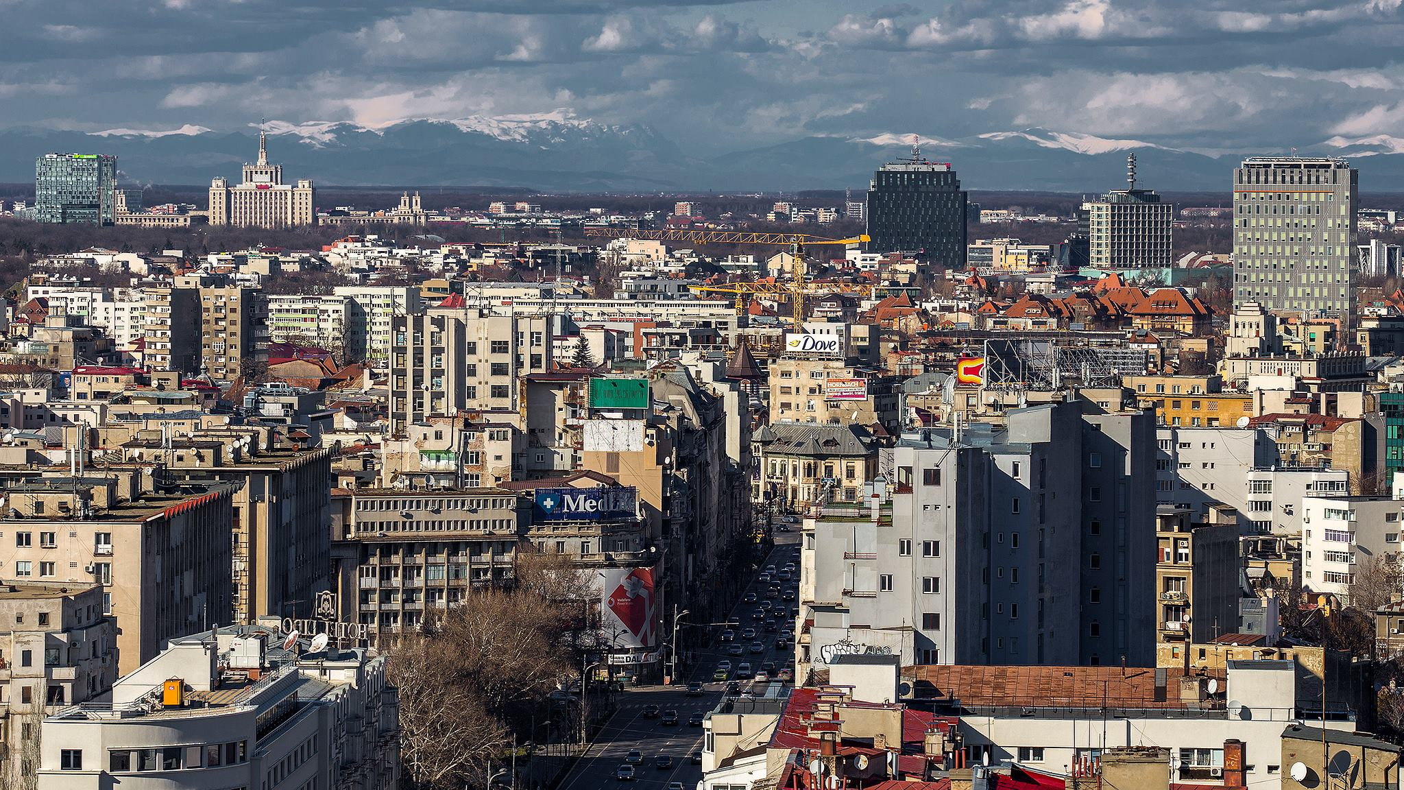 Bucharest and the Carpathian Mountains | Photo credit: Dan Mihai Balanescu